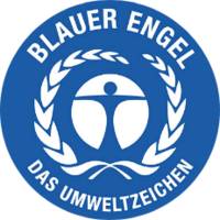 [Translate to Englisch:] Blauer Engel Logo