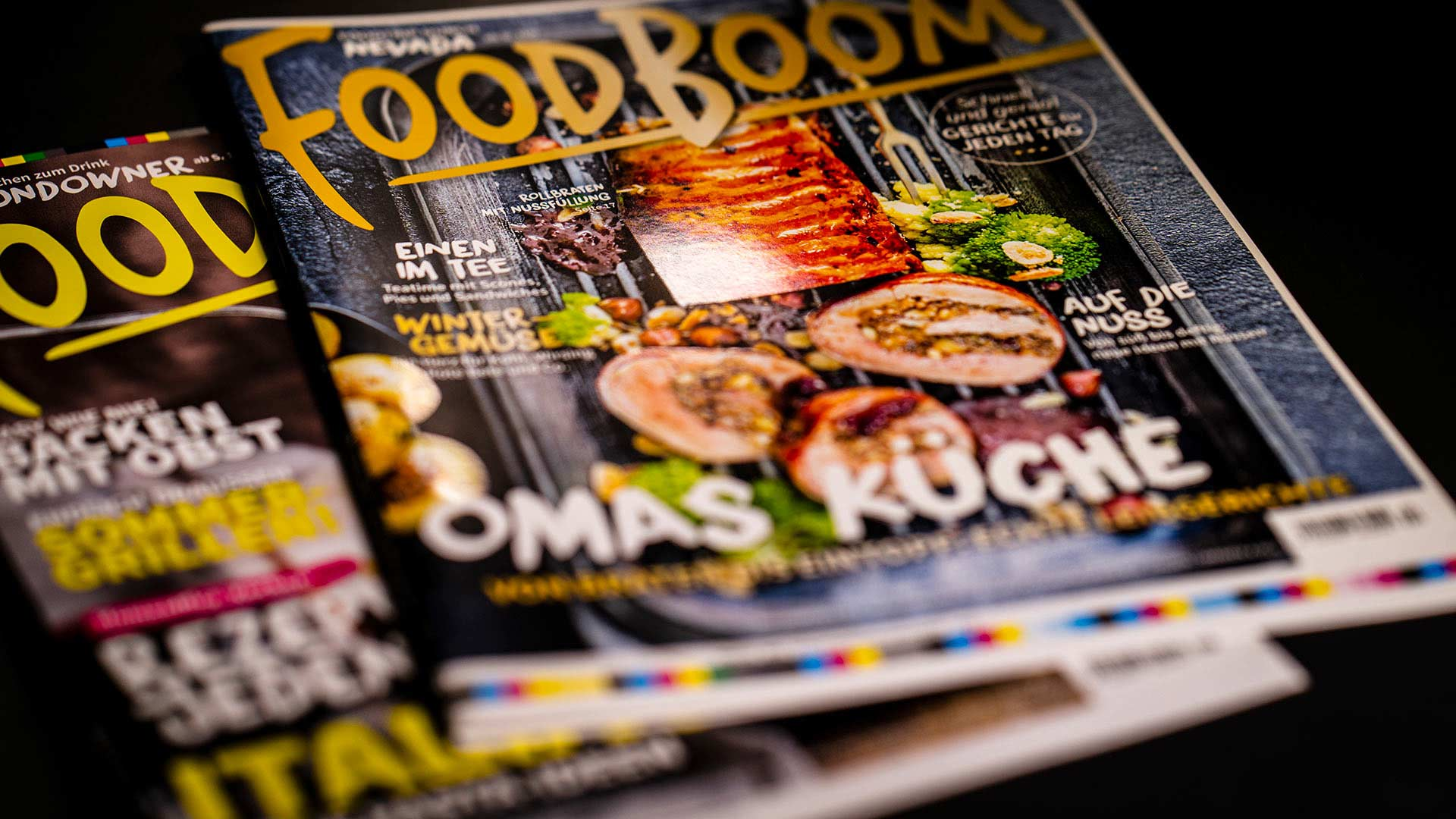 Cover des Rezeptmagazins FOODBOOM